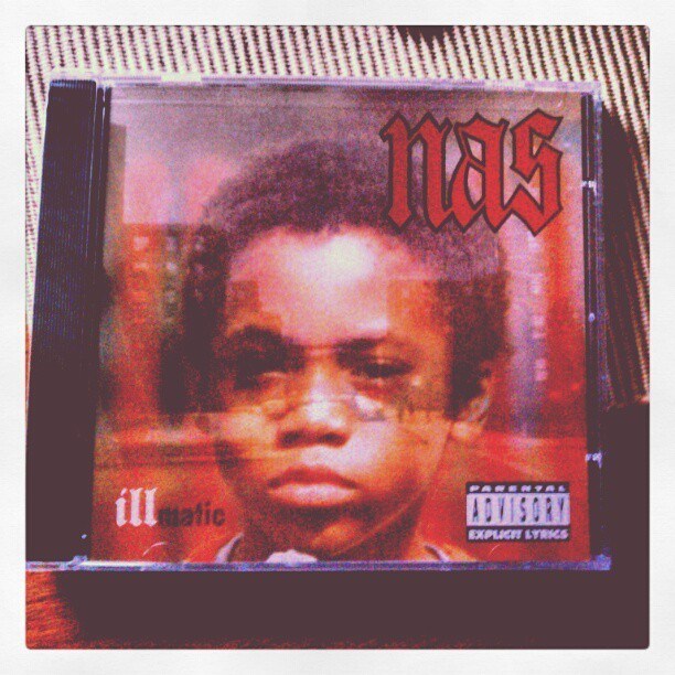 @nas #illmatic #ILLMATIC18YEARS  (Taken with instagram)
