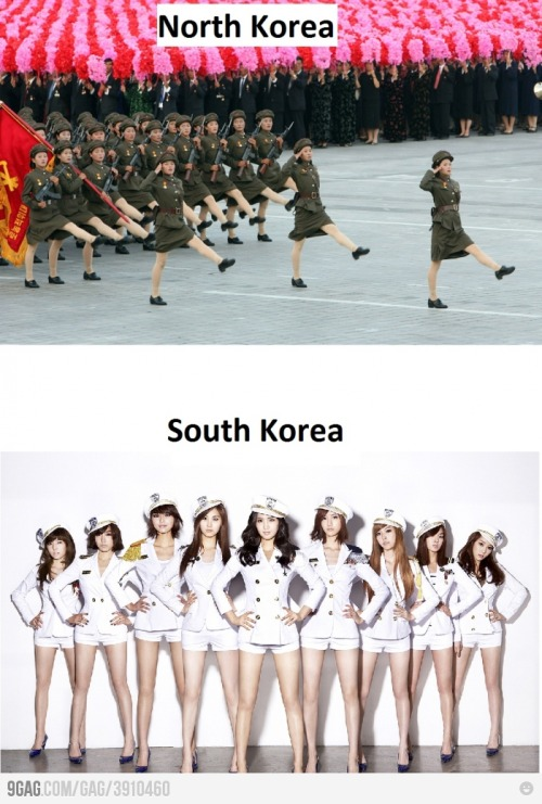 blogcrunch:  North Korea vs South Korea