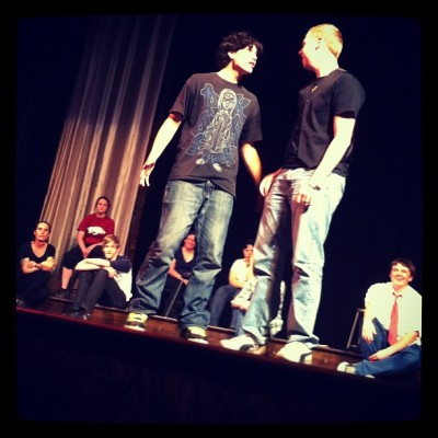 The Drama Class Performs (Taken with Instagram at Lyric Theater)