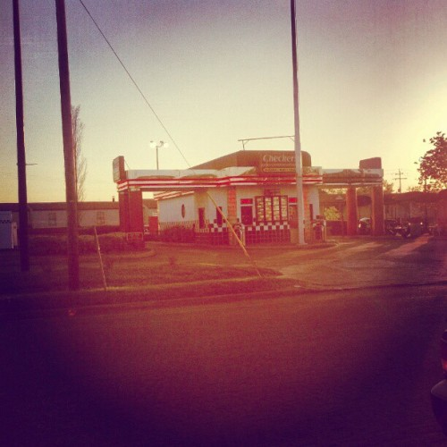 #checkers #food #travel #places #sunset (Taken with instagram)