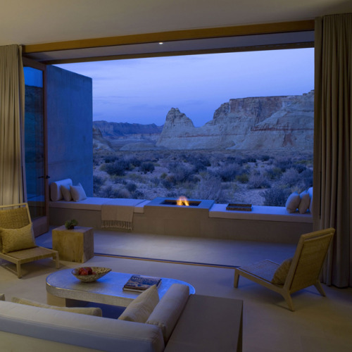 Mesa View Suite at Amangiri Hotel.