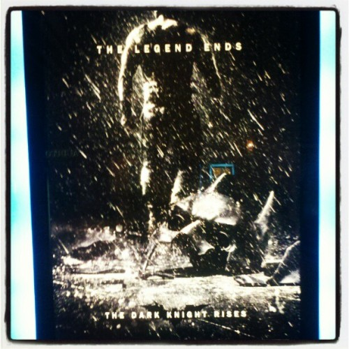 #batman #thedarkknightrises. Hell ya cant wait!!! (Taken with instagram)