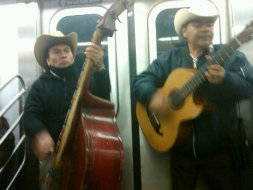 Nothing like a Mexican serenade to make that humpday go a lil quicker