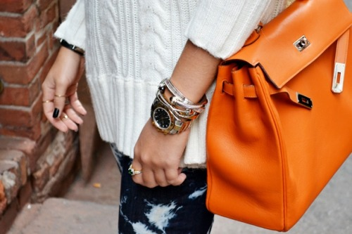 great bag for a chic touch.