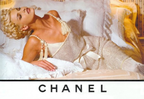 Linda Evangelista for Chanel, 1991