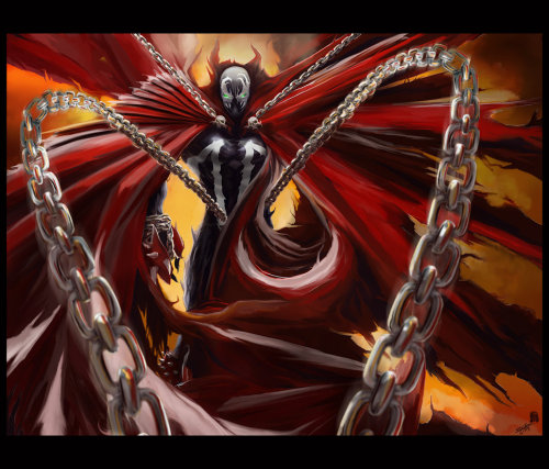 Spawn // artwork by artwork by Andie Fairhurst (2012)