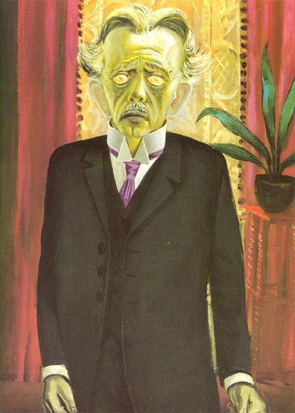 Portrait of Dr. Heinrich Stadelmann by Otto Dix  More info here.