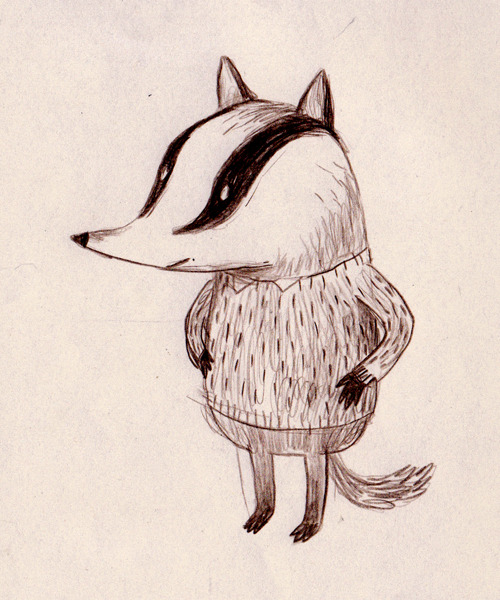 I like this little badger fellow.