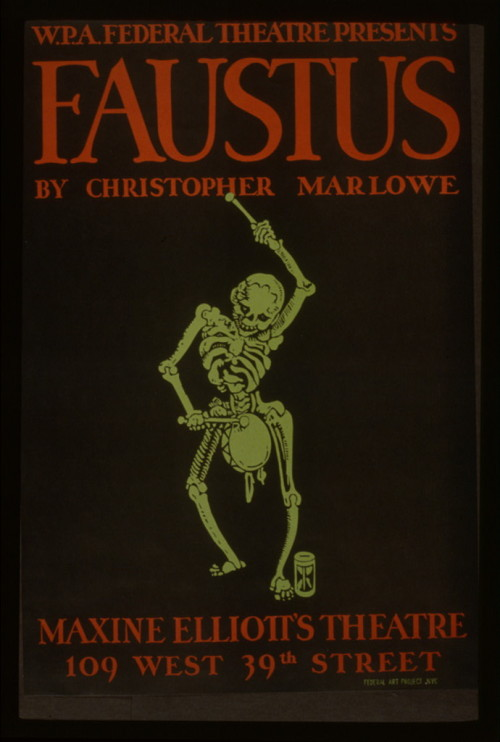 WPA production of Marlowe's FAUSTUS