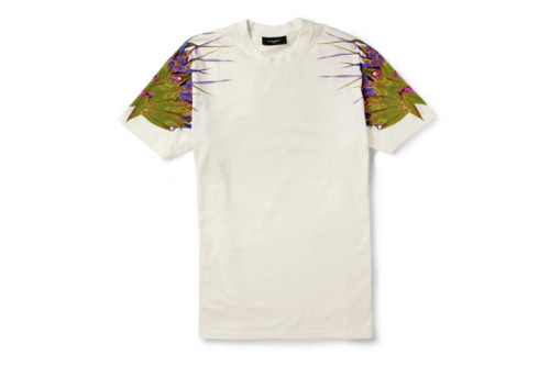 Givenchy Paradise print cotton t-shirt. $610, expensive as fuck.