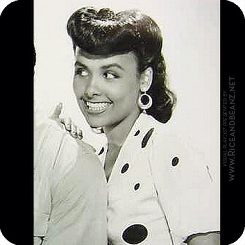 "Lena Horne in ""Cabin In the Sky"" co-starred as the temptress Georgia Brown in her first and only leading role in an MGM musical. _____________________________________  #LenaHorne #CabinInTheSky #vintage #pinup #1940s #retro #exotic #vintage #ethnicbeauty #blackbeauty #blackpinups  #riceandbeanz #santiago (Taken with instagram)"