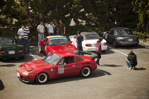 Miatas at Mazda Raceway Laguna Seca 2012, as covered by Phil. Stay tuned for more.