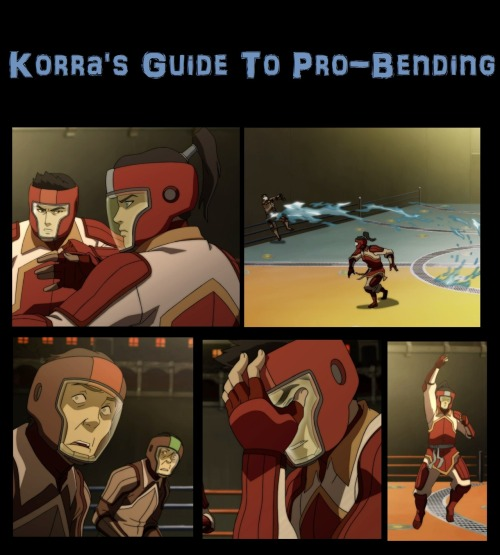 Korra is the best pro bender ever