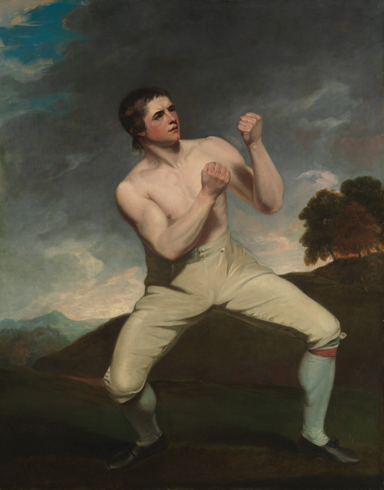 John Hoppner (1758-1810), Richard Humphreys, the Boxer