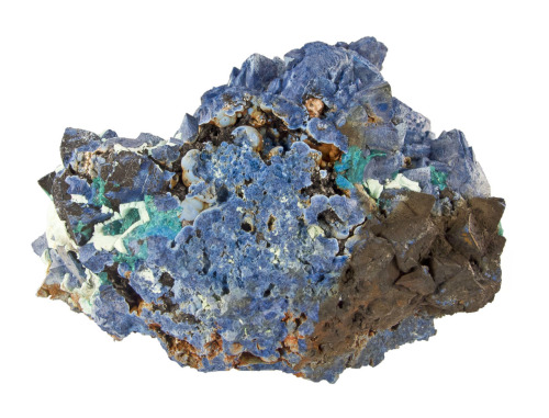 Shattuckite after Dioptase from the Congo by the Arkenstone