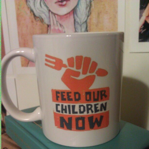 Late night tea. #focnow #feedourchildrennow  (Taken with instagram)