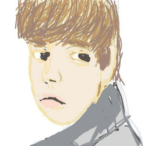 Justin Bieber #drawsomething  (Taken with instagram)