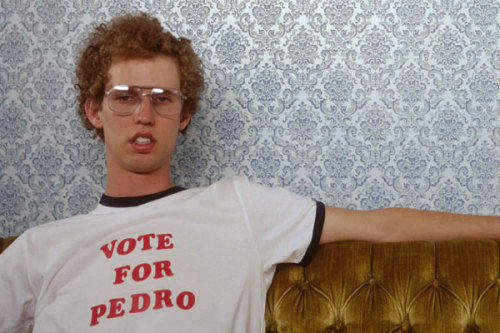 VOTE FOR PEDRO.