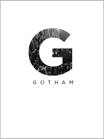 cover of a book I designed for an essay I wrote on the gotham typeface