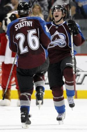 Matt Duchene and Paul Stastny, Colorado Avalanche.