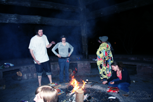 blankpagephotography:  105:// S'mores and bonfires.