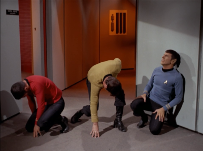 mexican-lassiter:  mrpicard:  allanson:  leonardnimoy:  their rock pose    omg  they look like the wiggles