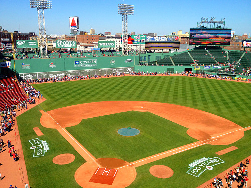 the-destroia:  Happy 100th birthday, Fenway! You don't look a day over 25. Stay beautiful.