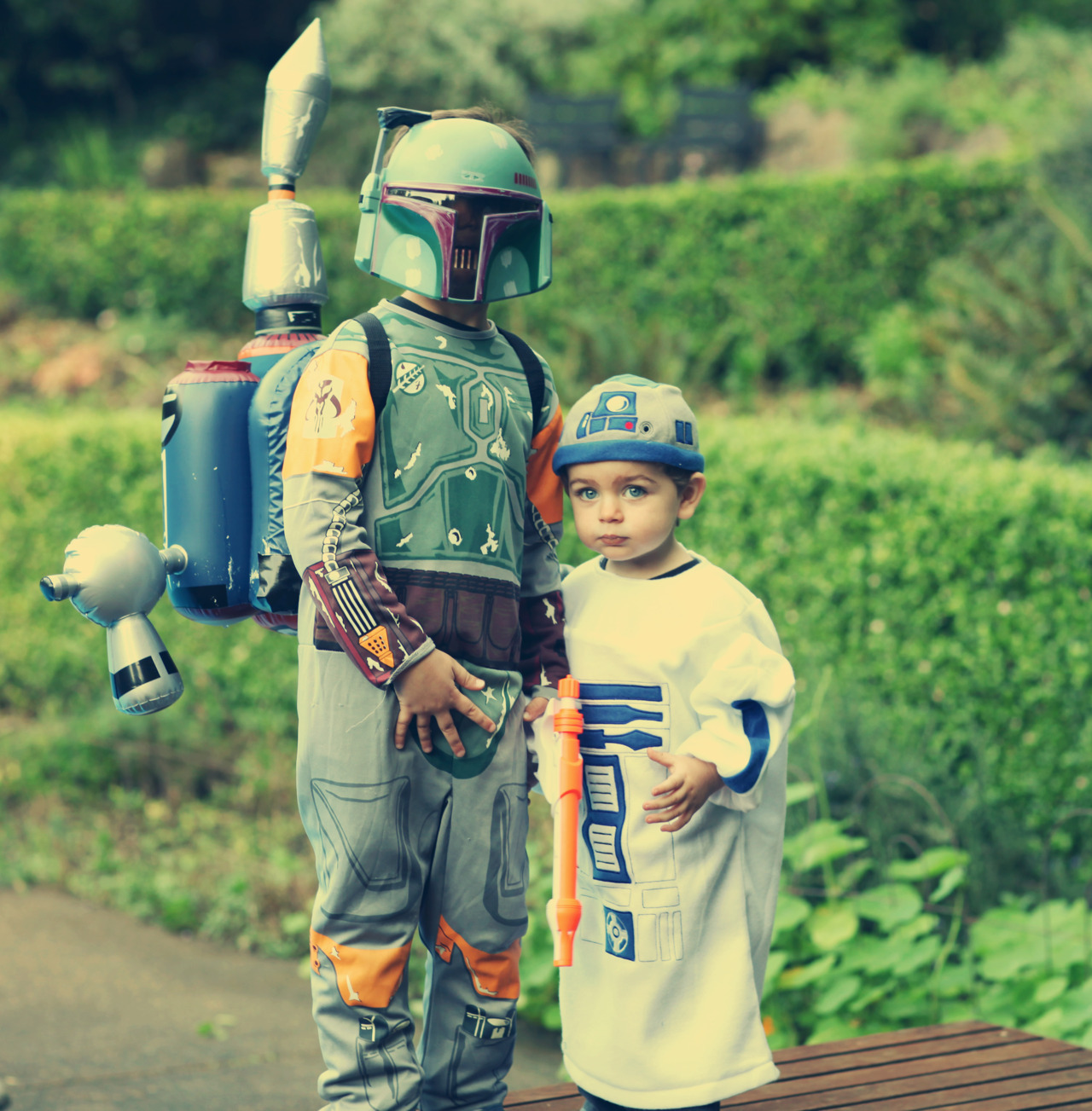 Boba Fett and R2-D2