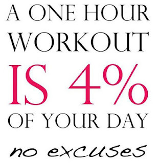 You don't have time to work out?  Really?