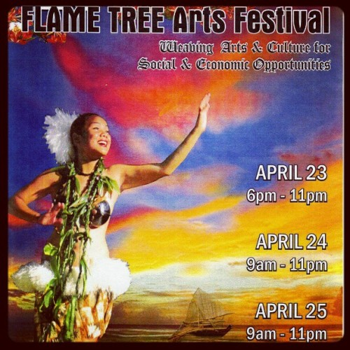Wish I was back home to go the the flame tree festival! Old poster tho. #saipan #flametree #cultural #festival #crafts (Taken with instagram)