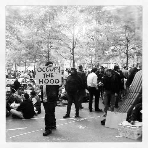 'Occupy the Hood' #occupywallstreet by Dan Patterson on Flickr.