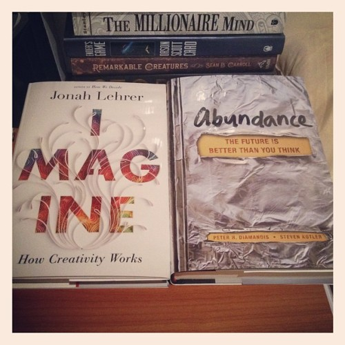 I kiiiiinda bought more books.. :) (Taken with instagram)
