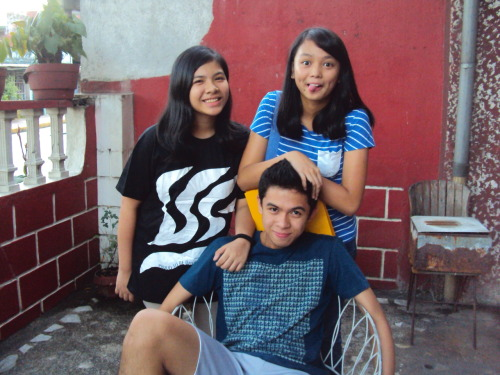 Me, my brother, and my cousin :))