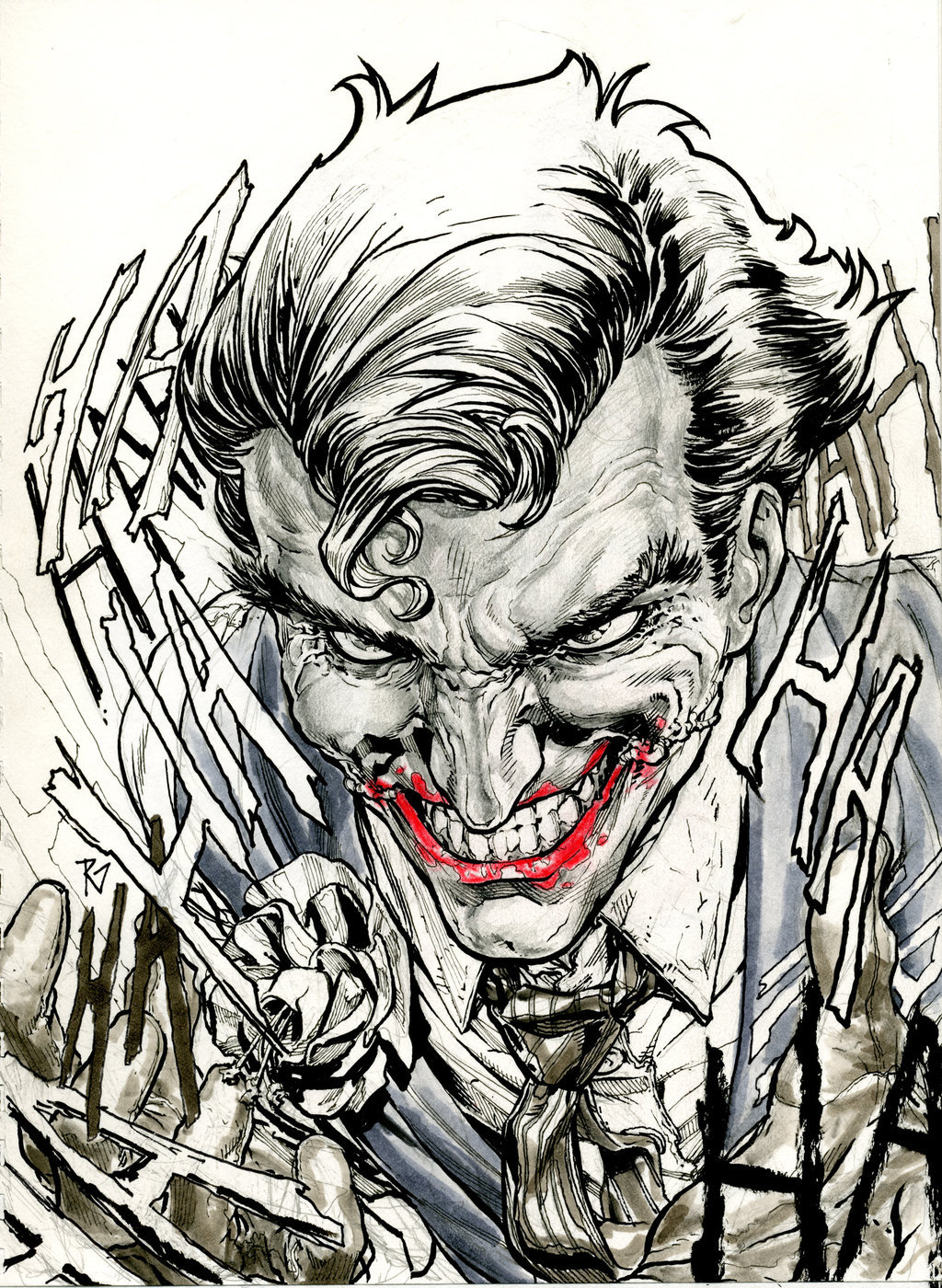 comicbooks:  The Joker by Ransom Getty