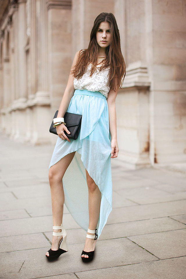 ROMANTICISM WITH MINT AND LACE (by M. K.)