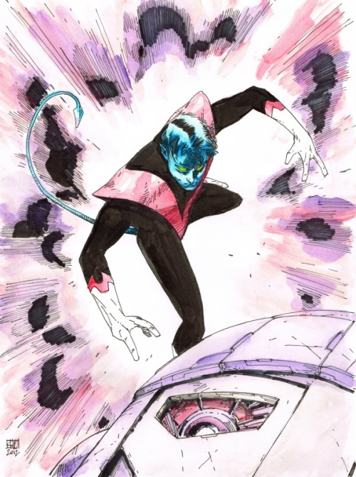 awyeahcomics:  Nightcrawler by Khoi Pham