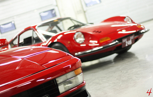 Ferrari Testarossa & Dino 246GT, I know for sure which I find prettiest! www.theretromobilist.com