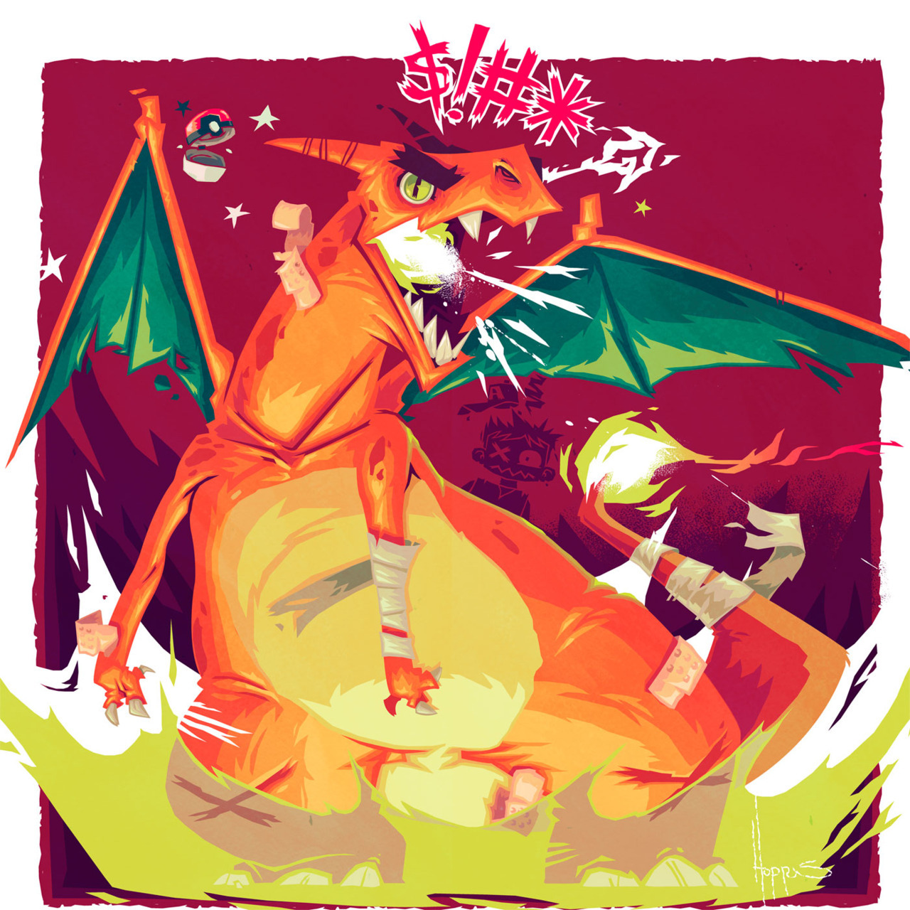 #6 Charizard by Adam Hoppus