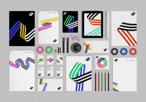 Film Commission Chile Crisp and colorful branding for FCC by Hey Studio.  Found on The Fox Is Black