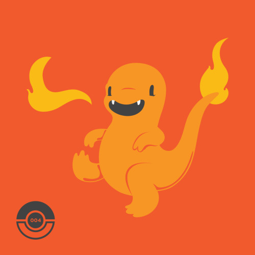 #4 Charmander by Andy Weaver