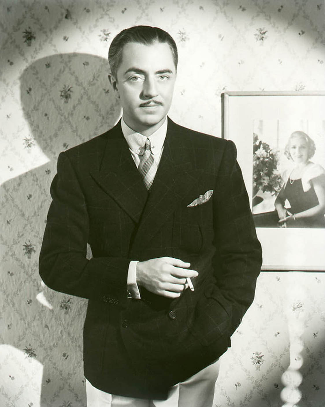 This is William Powell. This is what a man looks like when he wears a jacket… I mean, really wears a jacket… Photo via bastardkeaton.