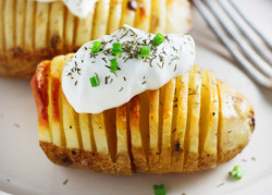 Hasselback potatoes!