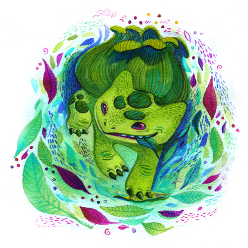 #1 Bulbasaur by Francesca Buchko