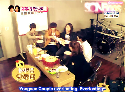 CHEERS from the CNB Boys~ 'YongSeo Couple everlasting!' YongSeotoInfinity YongSeo800