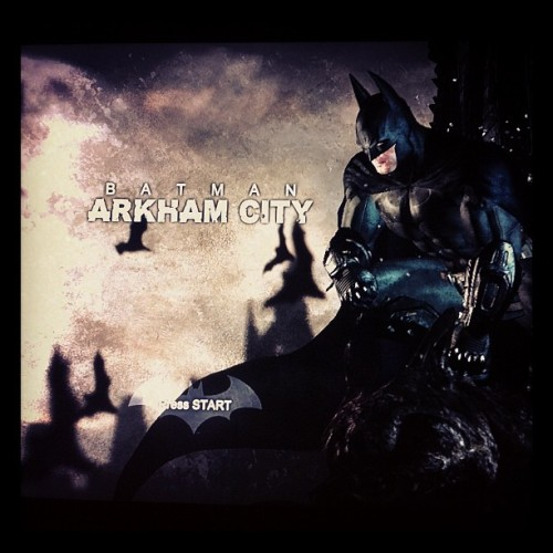 Next game to accomplish at 100% #Batman #ArkhamCity  (Tomada con instagram)