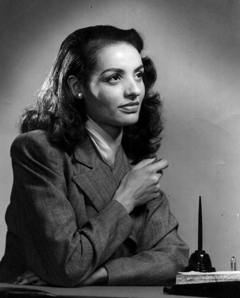 lovemyblack:  Madame Ophelia DeVore was the first mixed-race model in the United States. In 1946, she helped create the Grace Del Marco Agency.  Grace Del Marco Agency would become one of the worlds first modeling agencies.