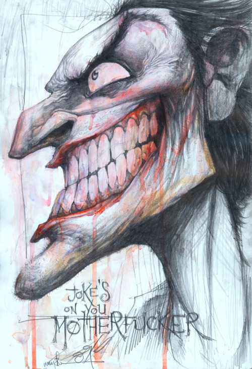 awyeahcomics:  The Joker by Jonathan Wayshak