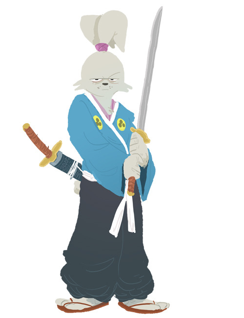 awyeahcomics:  Usagi Yojimbo by Zac Gorman