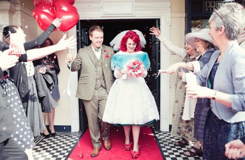 Vicky and Ted's wedding, Duke of Yorks picturehouse, Brighton 2012 http://www.emmalucyphotography.com/