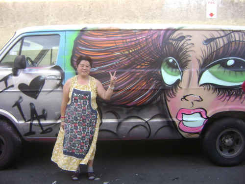 Sheee Wassss LOVIN' It.. Her New VAN… lol Peace to Pimp Her VAN.. lol Kreative Differences.